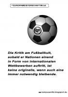 Kritik zur Europameisterschaft 08